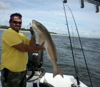 Captain Jack with a nice Red Fish